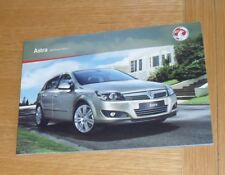 Vauxhall Astra H Brochure 2010 1.3 1.6 1.7 1.8 1.9 CDTI SRI XP Design SXI Elite