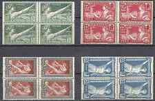 JEUX OLYMPIQUES OLYMPICS GAMES 1924 N°183/186 NEUF ** MNH (ROUSSEURS) COTE 632€