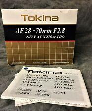 Tokina AF 28-70mm F/2.8 AT-X 270AF PRO