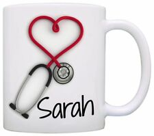 Personalized Stethoscope Coffee Mug a Funny and Unique Gift for Nurses Persona