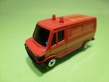 MC TOY MERCEDES BENZ 307D - AMBULANCE - RED 1:65? - GOOD CONDITION