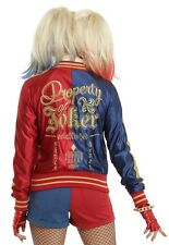 DC Comics Suicide Squad Harley Quinn Hot Topic Bomber Jacket Sz Medium Rare NWT!