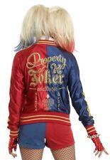 DC Comics Suicide Squad Harley Quinn Hot Topic Bomber Jacket Sz Medium