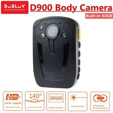 64G Police 1920*1080P Camera Security Guard Record DVR Body Pocket Night Vision