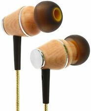 Symphonized XTC 2.0 Earbuds with Mic, Premium Genuine Wood Stereo Earphones
