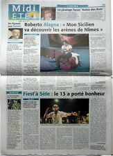 MIDI LIBRE 2009: ROBERTO ALAGNA