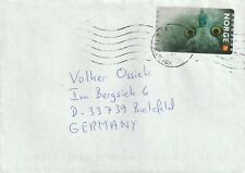 2002 Norway cover sent from Youngstorget to Bielefield Germany