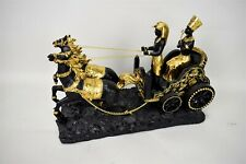 Design Toscano Egyptian Horse and Carriage Sculpture Figurine No. 7 Hand Crafted