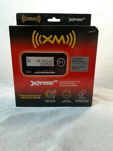 NEW AUDIOVOX XPRESS EZ XMCK-5P XM SATELLITE RADIO RECEIVER W/CRADLE & ANTENNA