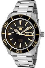 SEIKO SNZH57K1,Men's Sport,Automatic,Stainless steel,Rotating Bezel,100m WR