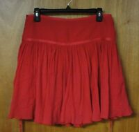 Darling Calvin Klein Red Skirt, Size 6