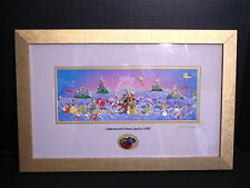 Disney ~ CELEBRATE THE FUTURE LAND TO LAND ~ Framed Limited Edition Pin Art Set