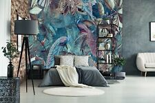 3D Peacock Feather A230 Wallpaper Wall Mural Self-adhesive Andrea haase Amy