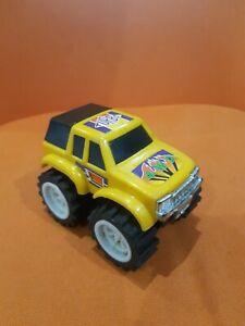 Vintage Yellow 4x4 Truck Plastic Toy