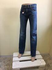 Armani jeans women's jeans P39 Indigo series 005 Eco wash Blue
