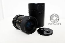 Tamron Japan 35-70mm 3.5-4.5 MC Macro zoom lens with case 09A