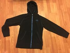 The North Face Boys Hooded Fleece Lightweight Black Hoodie Sweatshirt Large
