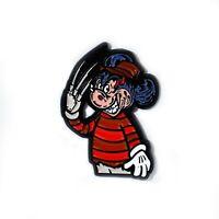 Freddy Krueger Mickey Collectible Horror Lapel Hat Pin Pendant