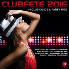 CLUBFETE 2016  - 2 CD NEU/OVP