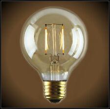 LED Vintage Edison Globe Light Bulb 2 watt - 40 watt Equal