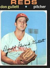 1971 Topps Baseball Card #124 Don Gullett RC - EX