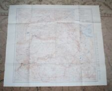 USGS 1961 MAP Yosemite National Park California Topographical