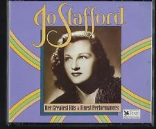 READERS DIGEST JO STAFFORD HER GREATEST HITS & PERFORMANCES  3CD BOX