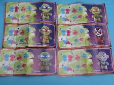 Kinder TMNT  figure Bpz set Russland