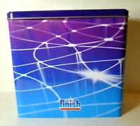 Collectible Finish Dishwasher Soap Hinged Lidded 2010 Reckitt Benckiser Inc.Tin