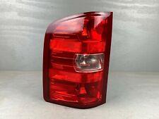 Nice! 07 08 09 10 11 12 13 Chevrolet Silverado Left Driver Tail Light Lamp OEM