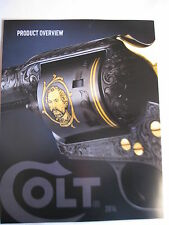Colt 2014 Product Overview Booklet / 3 Page Foldout Military