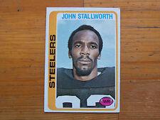 1978 TOPPS FOOTBALL JOHN STALLWORTH ROOKIE CARD # 320 EX/MT