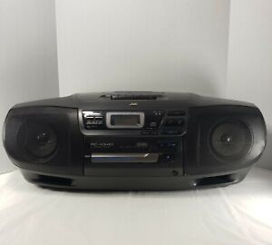 Vintage Classic JVC CD Cassette Radio Portable System Boombox RC-X540 READ