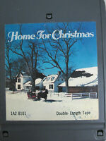 Home For Christmas Double Length 8 Track Tape 1977