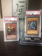 PSA Graded 9 Mint YuGiOh Card2002 Curse of Dragon Super Rare TCG LOB-066