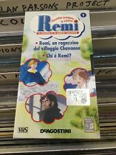 film VHS REMI ascolta sempre il cuore 1 bambino DE AGOSTINI 2004 (F197)