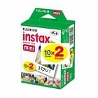 Fujifilm Instax Mini 8 Full Color Instant Film 20 Sheets for Fuji 8 8+ 26 70 90