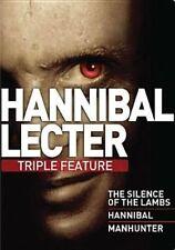 Hannibal Lecter Triple Feature 0883904236214 DVD Region 1 P H