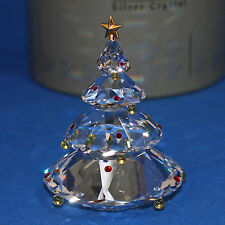 Swarovski Crystal Christmas Tree Gold Star With Box COA  266945 / 7475 000 606
