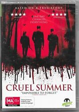 Cruel Summer (DVD, 2017)New ( A Monster Pictures Film ) Region 4 Free Post