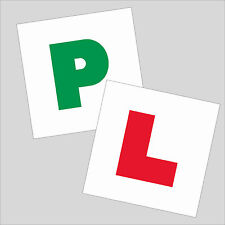 'L' & 'P' Plate Set