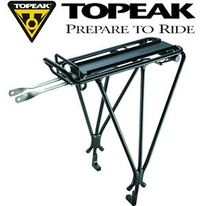 Topeak TA2037B Explorer Tubular Disc Brake with Spring MTX Rear Bike Rack Black