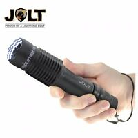 JOLT POLICE TACTICAL STUN GUN WITH FLASHLIGHT, RECHARGEABLE - 85 MILLION VOLTS!!
