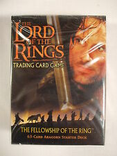 Lord of the Rings TCG Fellowship of the Ring Starter Deck Aragorn CCG Sealed