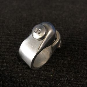 New Bicycle Schwinn Retro Seat Post Clamp in Silver