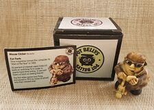 """Nib Pot Bellys """"Mouse Clicker"""", the Techy Crushed Marble Miniature Figurine"""