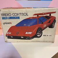 Radio Control racer lamborghini Countach lp500s model no a-101 Hong Kong Plastic