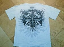 Xtreme Couture Short Sleeve Graphic Tee Shirt Cotton White 2XL