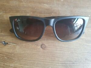 Ray Ban brown frame sunglasses. RB 4165 Justin.
