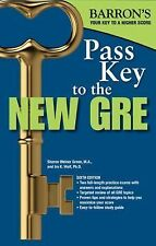 Pass Key to the New GRE, 6th Edition (Barron's Pass Key to the GRE), Wolf Ph.D.,